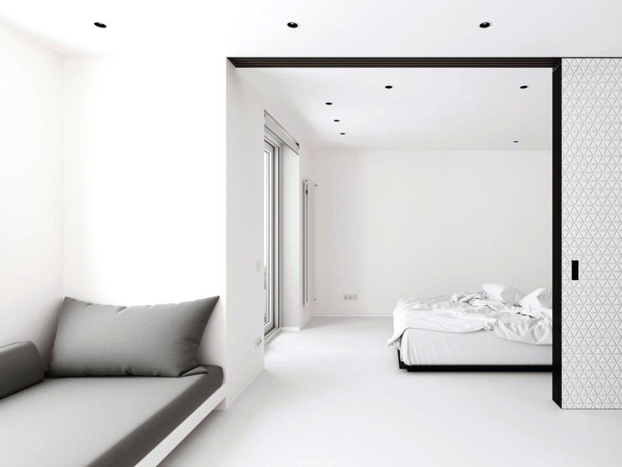 כל הרהיטים יוצרו במיוחד עבור הדירה