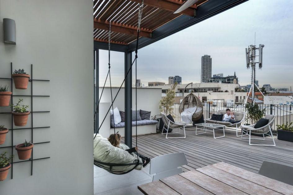 עיצוב בשתי קומות- דופלקס במתחם נגה