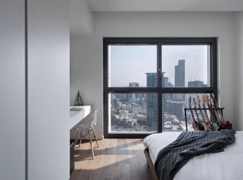 מודרני, אמריקני, אורבני- דירה במגדלי W PRIME