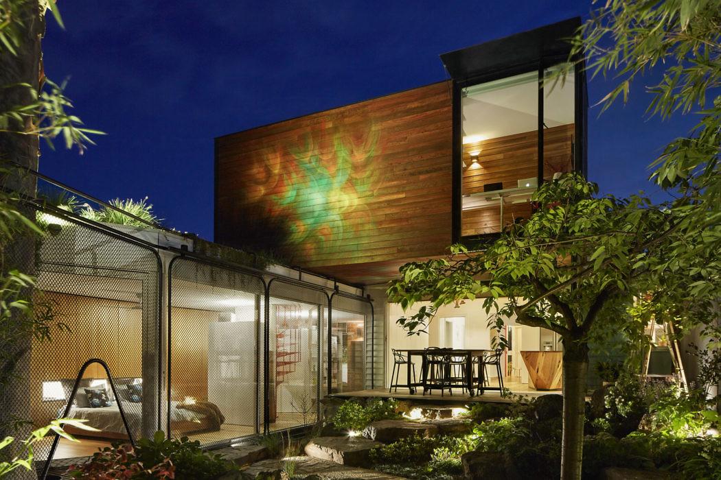בית קיה במלבורן – מכלול השראות יפניות ובודהיסטיות
