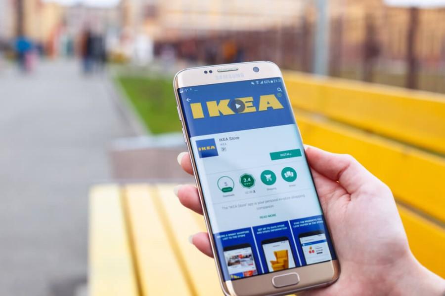 אפליקציית הקנייה של איקאה במובייל