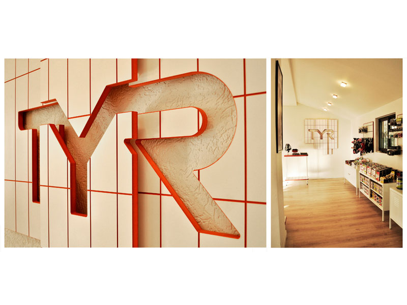 Interior Design - TYR sales showroom